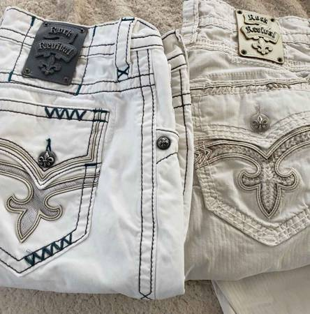 Photo Rock Revival Jeans Two Pairs - $50