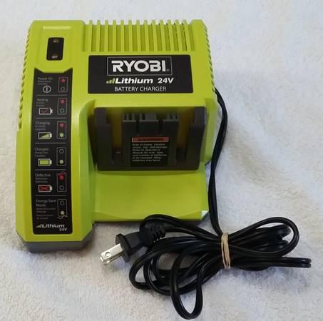 Photo Ryobi Lithium 24 Volt Battery Charger 0P140 - $20 (Tarpon Springs)