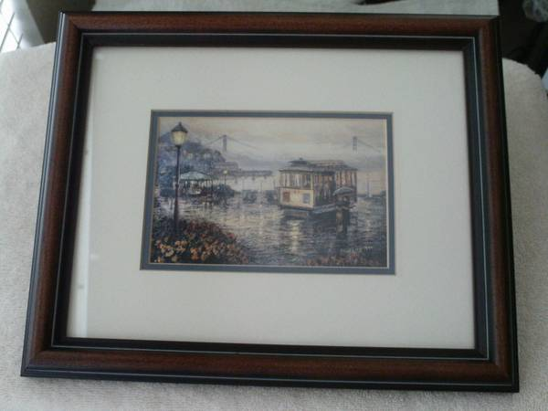 Photo SAN FRANCISCO CABLE CAR OLD FASHION PICTURE - $10 (NEW TAMPA  WESLEY CHAPEL)