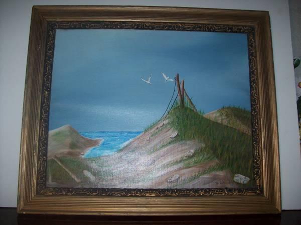 Photo Sand Dune Painting - $20 (New Port Richey)