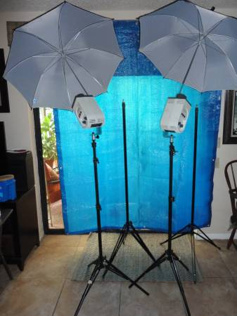Photo Studio Lighting and Camera Stands - $650 (New Port Richey)