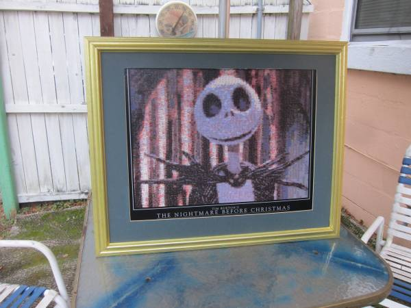 Photo Tim Burton The Nightmare Before Christmas Picture - $50 (Clearwater)