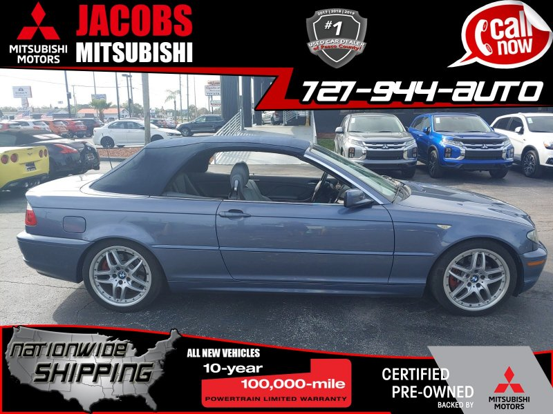 Photo Used 2004 BMW 330Ci Convertible for sale