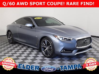 Photo Used 2017 INFINITI Q60 3.0t AWD Coupe for sale