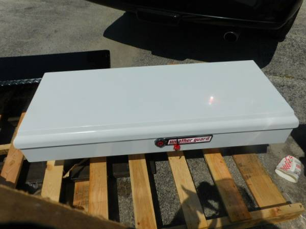 Photo Weather Guard (Werner) 186-3-01 Lo Side White Steel 47quot Toolbox - $150 (Clearwater)