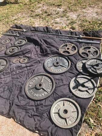 Photo Weider pro 450Weight Bench an Weights  RACK - $900 (Clearwater)