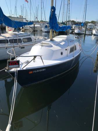 Photo Westerly 22 Sailboat - $7,000 (St Petersburg Pier)