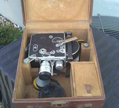 Photo .. .. .. Bolex Paillard H8 Movie Camera,Lenses,Case (Pinellas)