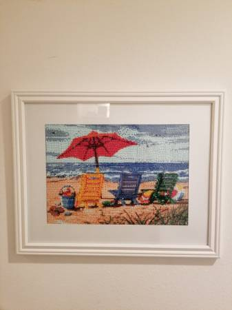 Photo beach chairs hand crafted picture - $60 (indian rocks beach)