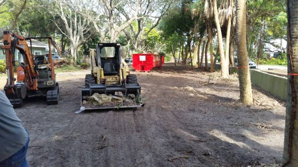 Photo tractor, back hoe, and bob cat dirt work - $150 (odessa)