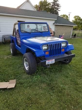 Photo 1990 jeep wrangler - $3000 (Terre Haute)