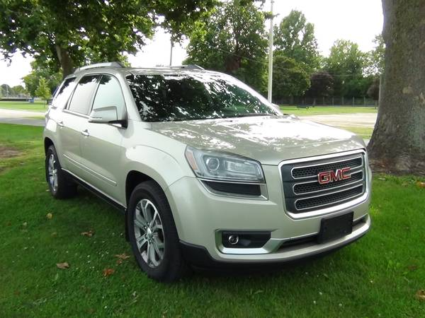 Photo 2014 GMC Acadia SLT SUV Sunroof, Leather, Third Row - $14,900 (Cooper Motors LLC Tuscola, Il)