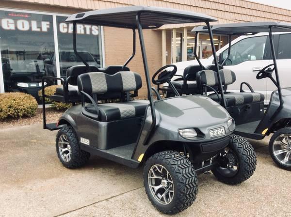 Photo 2020 E-Z-GO Valor EFI Gas Custom Charcoal Golf Cart - $6699 (AACO EVANSVILLE)