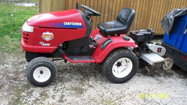 Big Garden Tractor And Pull Behind Tiller 750 Brazil