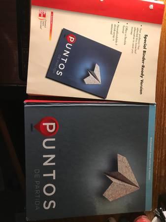 Photo Puntos de Partida beginning Spanish textbook - $20 (Dalton City)