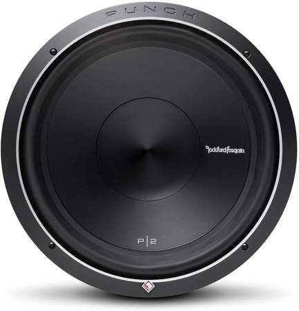 Photo Rockford Fosgate Punch 15quot subwoofer - $200 (Chaign, IL)