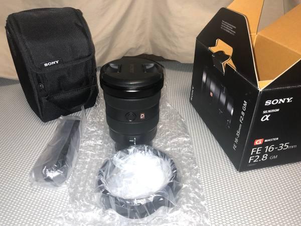 Photo SONY 16-35mm F2.8 GM - $1,600 (Bloomington)