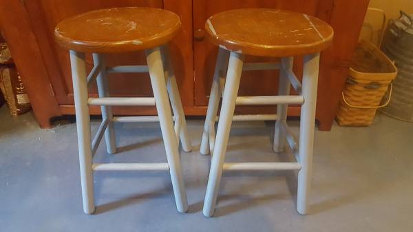Photo Two bar stools - $10 (Rockville)