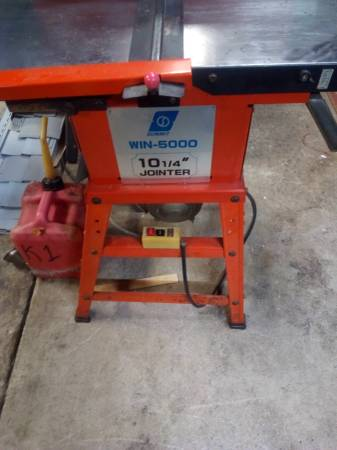 Photo Wen 10 12 3hp jointer planer (linton)