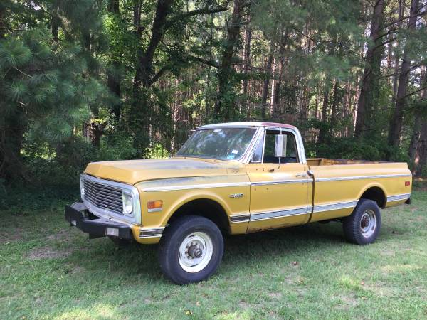 Photo 1972 Chevy 4x4 k20 k10 - $4600