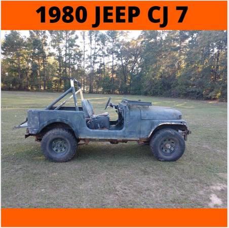 Photo 1980 Jeep C J 7 - $1650