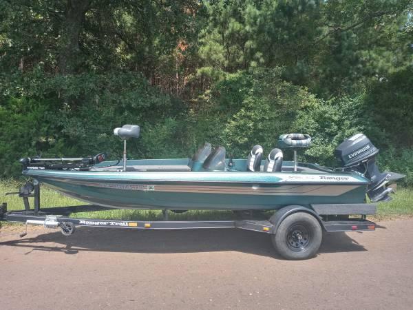 Photo 1995 Ranger R72 Bass Boat 115hp - $4,500 (Longview)