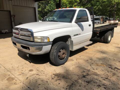 Photo 2001 Dodge Ram 3500 Flatbed -ONLY 34,894 - $11,500 (Hope)