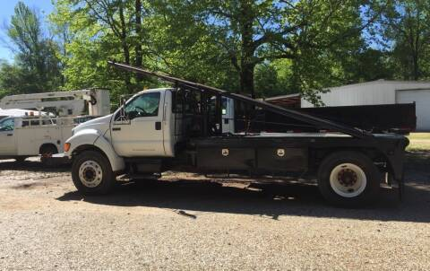 Photo 2004 F-750 Super Duty Flatbed, 16 Bed - $12,500 (Hope)