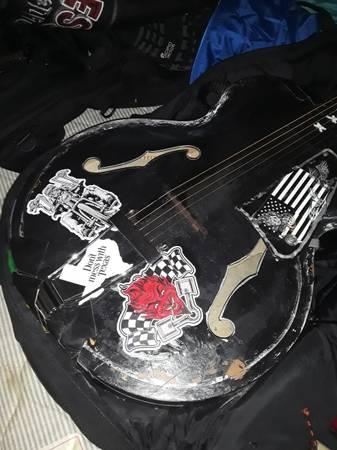 Photo 50s era kay archtop acoustic guitar - $25 (Texarkana)
