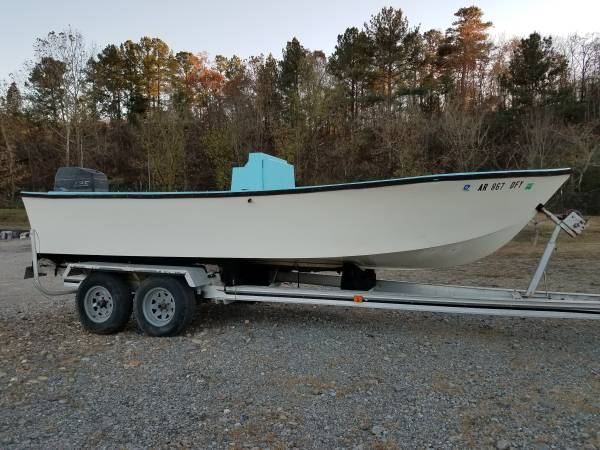 Photo Center Console Boat 125HP - $400 (Hot Springs)