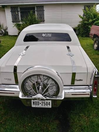 Photo Chrome Belts for 1980-92 Cadillac - $350 (Texarkana Texas)
