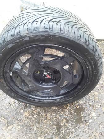 Photo Corvette rims n tires - $350 (Texarkana)