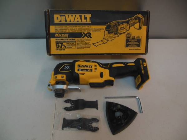 Photo Dewalt 20 V Max Oscillating Multi Tool - $90 (Texarkana, Arkansas)