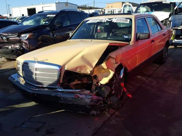 Photo FOR PARTS A COUPLE 1981 TO 1991 MERCEDES 300SD 3.0 5 CYLINDER DIESEL (NEVADA TX 75173)