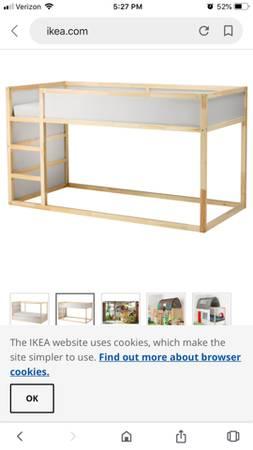 Photo IKEA Kura reversible BUNK BED - TWIN - Mattress Included - $150 (Texarkana)