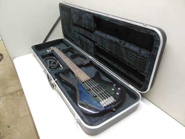 Photo Ibanez quotSound Gearquot N427 Bass Guitar wCase - $250 (Texarkana, Arkansas)