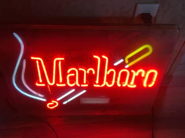 Photo Marlboro neon sign - $75