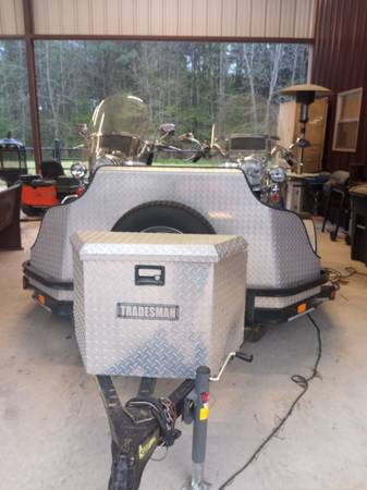 Photo Motorcycles and trailer for sale - $22,000 (Bivins)