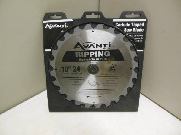 Photo New Avanti Carbide tip Ripping Saw Blade - $12 (Texarkana, Arkansas)