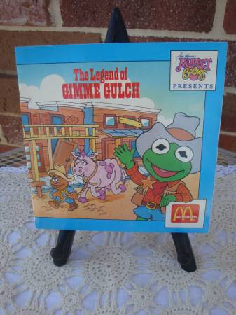 Photo 1988 Jim Henson39s Muppet Babies McDonalds promo Book - $5 (Royse City Area)