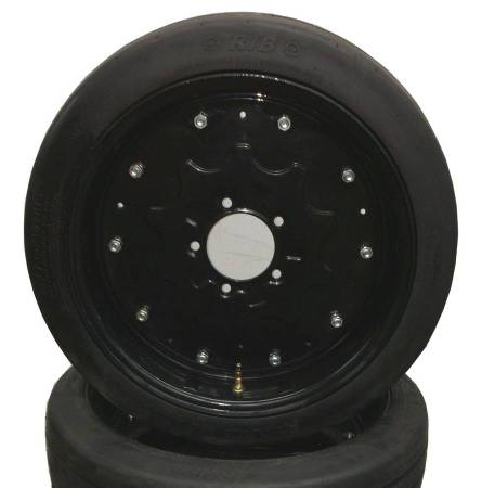 Photo 25quot New Batwing Shredder Mower Tires Foam Filled on Rims Solid - $219 (www.YourNextTire.com)