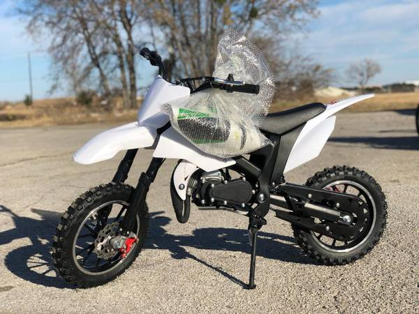 Photo Brand New 50cc Dirt Bike- 2 Stroke Pit Bike For Sale - $549 (We carry low prices on Atvs go kars dirt bikes scooters utv)