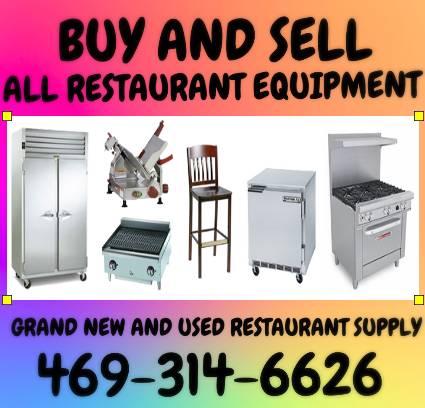 Photo Buy sell trade restaurant equipment (Rowlett)