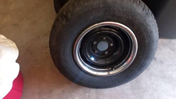 Photo Chevy 15 inch Rally Wheels - $250 (Preston Shores Pottsboro)