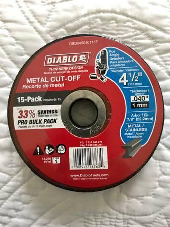 Photo Diablo 4-12 in. x 0.040 in. x 78 in. Thin Kerf Metal Cut-Off Disc (15-Pack) BL - $10 (Plano)