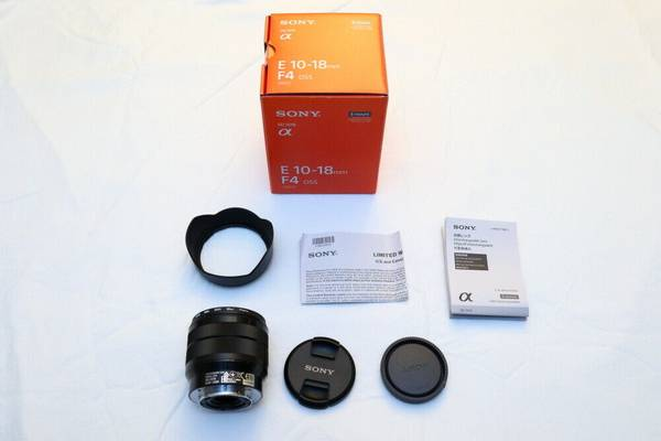 Photo New Sony 10-18mm Ultra Wide Lens. Paid $974.3 after tax - $670 (E-mount, Mirrorless)