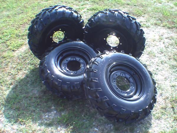 Photo Polaris 25quot UTV  ATV Tires and 12quot Wheels - $395 (Pottsboro)