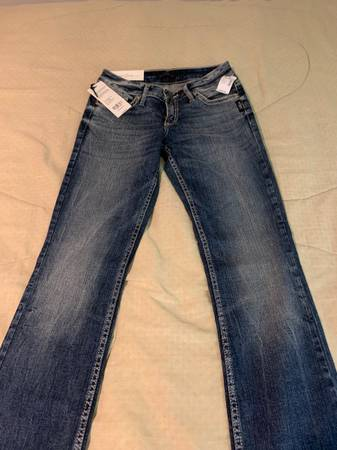 Photo Silver jeans - $60 (Howe)
