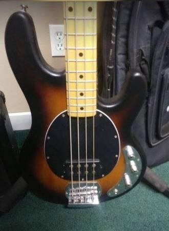 Photo Sterling Music Man Bass  More - $200 (Kingston)