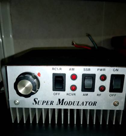 Photo Super Mod CB radio - $175 (Irving,)